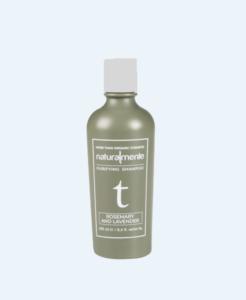 Rozmarinų ir levandų valantis ekologiškas natūralus šampūnas NATURALMENTE